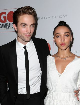 Twigs and Pattinson split in October 2017. (Photo: WENN)
