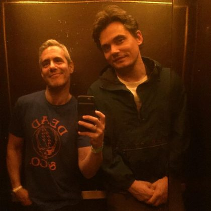 While their day jobs may be completely different, we can't help but notice John Mayer and Andy Cohen have built a friendship that can survive busy schedules, time apart, and distance. They are so close, they were even said to be dating. (Photo: Instagram)