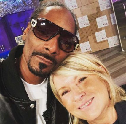 Taste mogul Martha Stewart and savvy rapper Snoop Dogg have a long history as one of the most unlikely celebrity pairings in the game, regularly professing their mutual respect and admiration for each other. (Photo: Instagram)