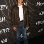 Matarazzo attended Variety's 2017 Young Hollywood event wearing a brown leather jacket paired with a classic white tee and light jeans. (Photo: WENN)