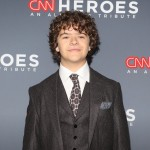 "Matarazzo attended CNN's annual ""Heroes: An All-Star Tribute"" event looking draper in a three-piece gray suit paired with a white button-up and a fun-print tie. (Photo: WENN)"
