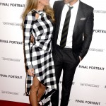 """Blake Lively and Ryan Reynolds staring into each other's eyes at the screening of the movie """"Final Portrait."""" (Photo: WENN)"""