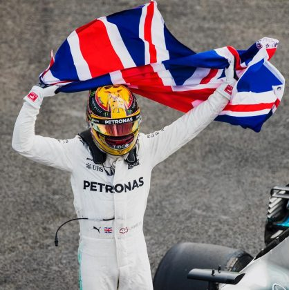 Lewis Hamilton is the most successful British driver in Formula One's history, having won more titles and championships than anyone ever! He's also the first black driver to race in Formula One. Quite impressive! (Photo: Instagram)