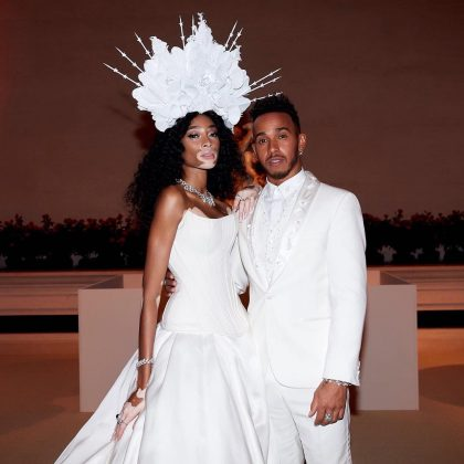 His relationship with Nicki Minaj isn't Lewis' first high-profile romance. He's dated a long list of celebrities, including Nicole Scherzinger, Rita Ora, and Winnie Harlow—just to name a few. He likes them famous! (Photo: Instagram)