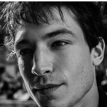 That face. His angular bone structure and narrow eyes make Ezra Miller look like a professional model rather than an actor. If his dark magic wizardly powers don't kill you, his cheekbones definitely will! (Photo: Instagram)