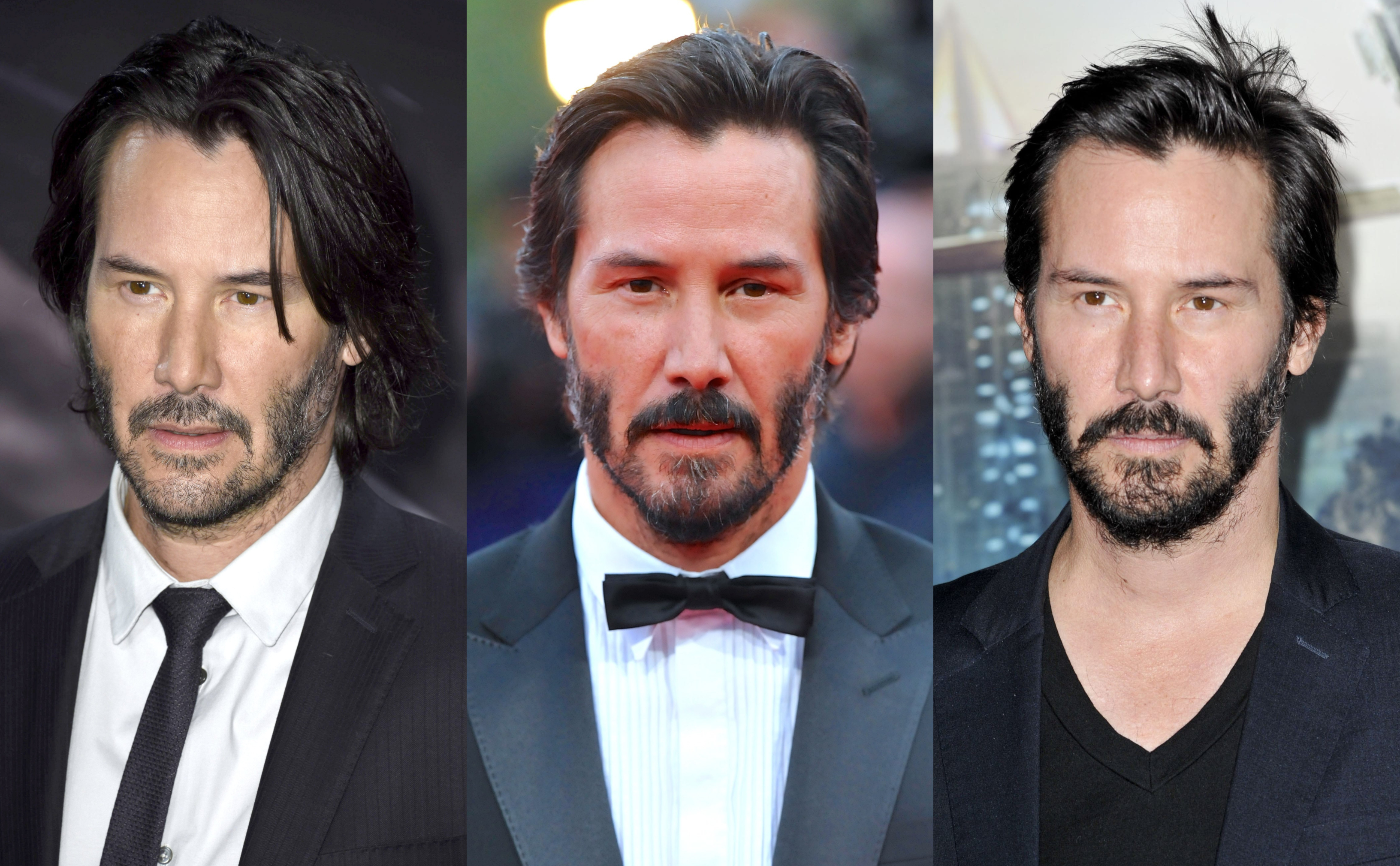 Seriously, is like if the guy was immune to the passage of time. For all we know he's just dying those grey hairs on his beard to try and fool us! (Photos: WENN)