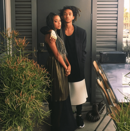 """Amandla went to her high school prom with Jaden smith! The duo posed for photos on Instagram and she called him a """"gentleman"""" by the end of the evening. (Photo: Instagram)"""