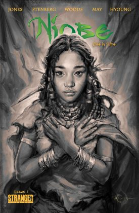 """Amanda is a comic book author. In 2015, she released """"Niobe: She Is Life #1"""", the first book from her fantasy trilogy series about a black girl elf vying to """"united the human world and the elf world."""" (Photo: Instagram)"""