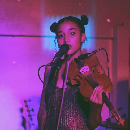 Besides acting, Amandla is also a pretty talented singer and violinist. She released two EP's with Zander Hawley under their band name, Honeywater. (Photo: Instagram)