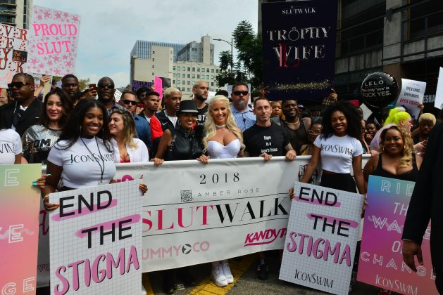 Blac Chyna also skipped Amber Rose's annual SlutWalk to attend the BET Hip Hop awards instead. (Photo: WENN)