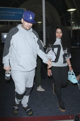 Their highly messy breakup included screenshots of an alleged text conversation between Rob and Chyna which included a photo of her exposed private area. (Photo: WENN)