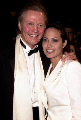 "Angelina Jolie has had long periods of estrangement from her father, John Voight. They cut ties in 2011 when Voight claimed his daughter had ""mental problems."" (Photo: WENN)"