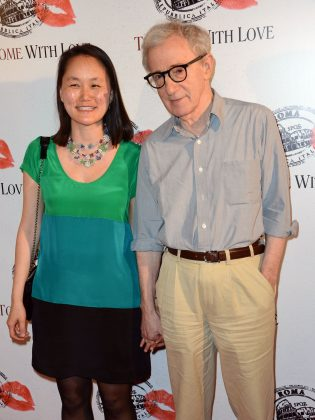 Soon-Yi, Mia Farrow's adoptive daughter, is married to her mom's former boyfriend Woody Allen. Their marriage broke the mother and daughter's relationship forever. (Photo: WENN)