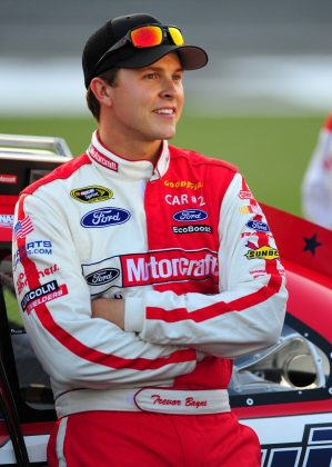 "Trevor Bayne, Daytona 500 winner, revealed in 2013 he'd been diagnosed with multiple sclerosis. Doctor cleared the then-22-year-old to continue to compete in NASCAR, though. ""I am in the best shape I've ever been in, and I feel good."" (Photo: WENN)"