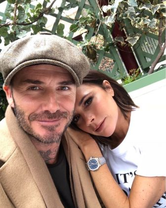 Way back in 2004, David Beckham's personal assistant admitted the pair had been sleeping together. And though the fashion designer it was a rough time for her family, Victoria and David are still couple goals to this day. (Photo: Instagram)