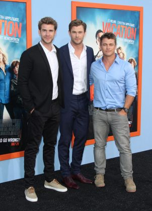 He's not as tall as Liam. He's not as well-known as Chris. But Luke is the third Hemsworth brother and let's just say good looks run on this family! (Photo: WENN)