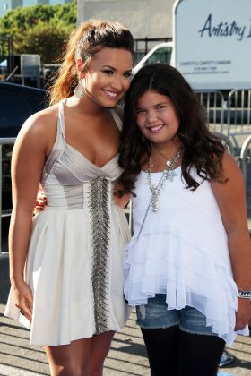 We all know and love Demi Lovato. And, even if you didn't know it, once we all know and loved Demi Lovato's sister too. Madison de la Garza played Juanita Solis, Eva Longoria's sassy daughter, on Desperate Housewives. (Photo: WENN)