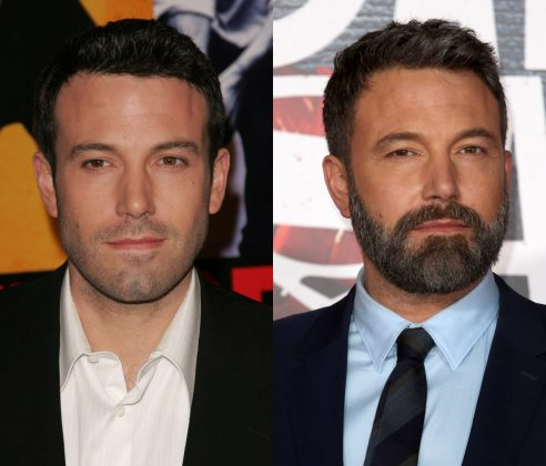 Maybe this picture of Ben Affleck without a beard is the real reason why Superman got into a fight with Batman. (Photo: WENN)