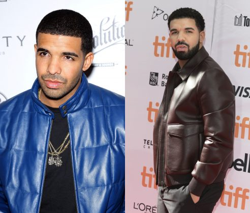 """Kiki do you love me?"" Not without the beard, Drake. Not without the beard. (Photo: WENN)"