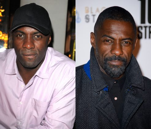 Shave that facial hair off and even Idris Elba goes from irresistible hunk to simply attractive. And that' saying A LOT. (Photo: WENN)