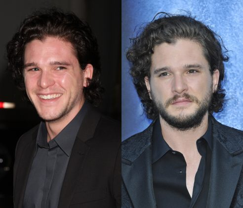 There's no way Kit Harington is ever sitting on the Iron Throne if he shaves that beard. (Photo: WENN)