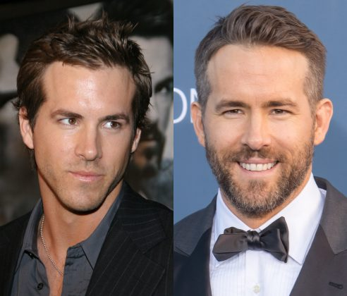 "Ryan Reynolds without a beard is nearly as bad as ""Green Lantern"". (Photo: WENN)"