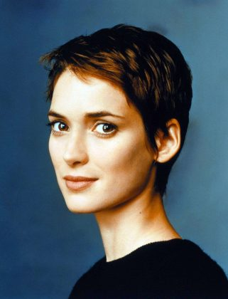 Winona Ryder wearing a pixie haircut before it was cool. (Photo: Release)