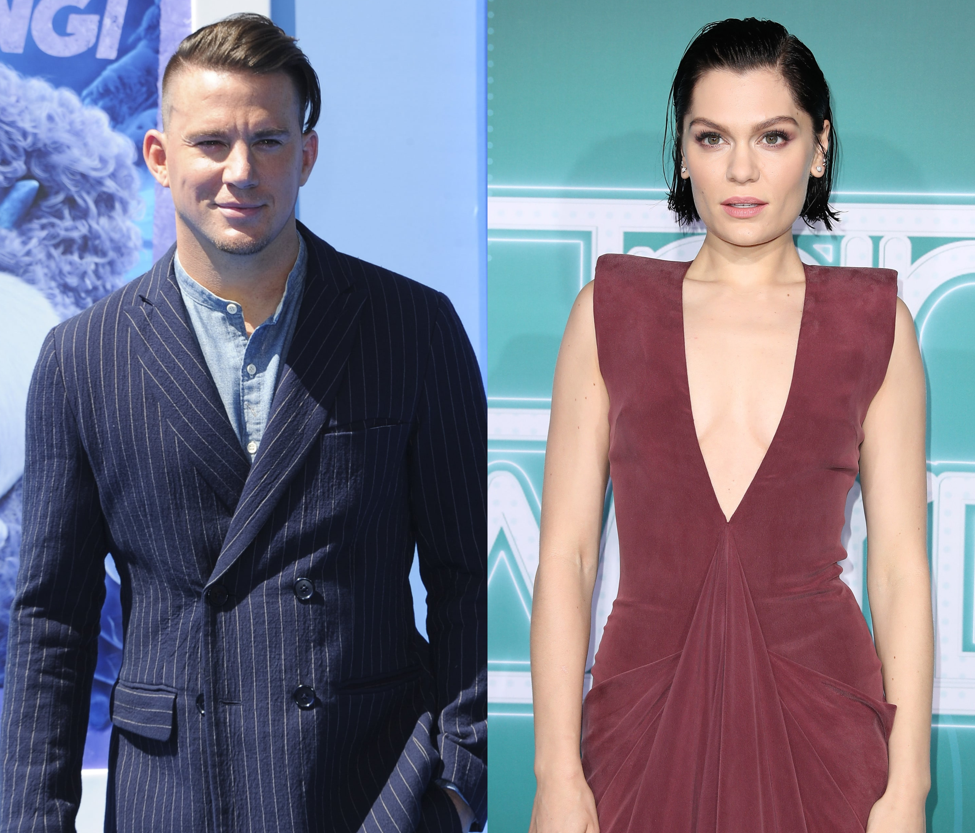 Twitter Has a Wild The... Channing Tatum And Jessie J