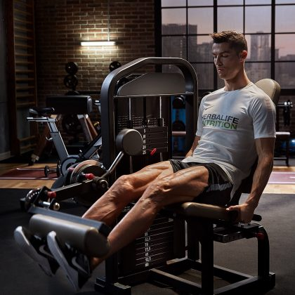 Because Cristiano Ronaldo's workout routines are all the fitness inspo you'll ever need on your Instagram feed. (Photo: Instagram)