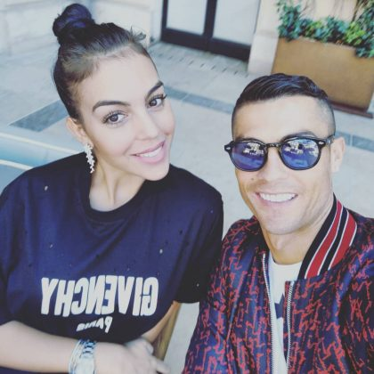 Because Cristiano and Georgina look so damn good together they are the definition of couple goals. (Photo: Instagram)
