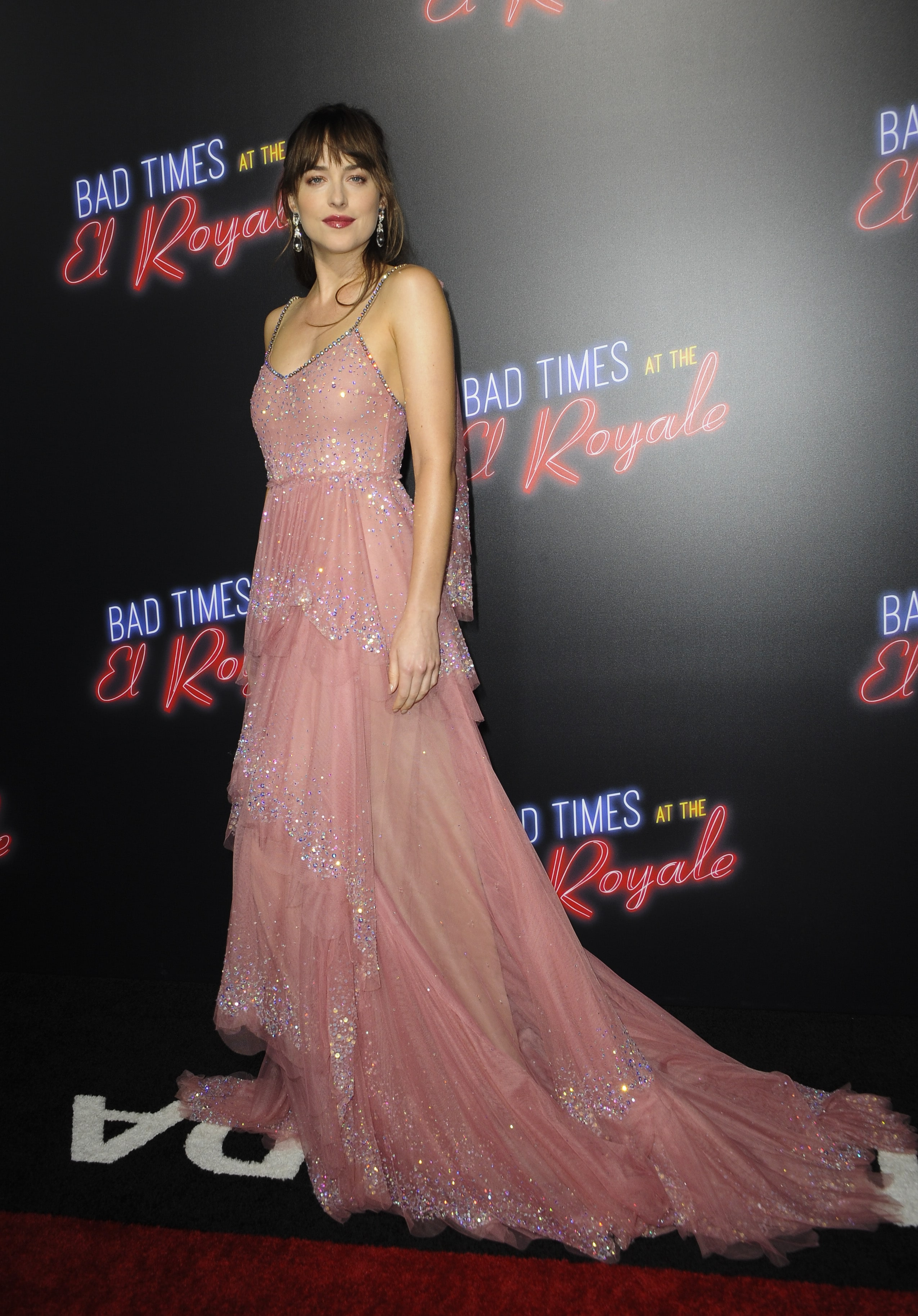 "a6eb72788 Dakota Johnson stepped out for the premier of her new film ""Bad Times at the"