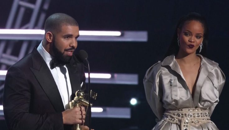 Drake infamously confessed his love to her before presenting her with her Video Vanguard Award at the 2016 MTV VMA's. (Photo: WENN)