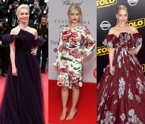 In celebration of her 33rd birthday, here are 10 times Emilia Clarke's style has consolidated her as the ultimate fashion icon in all seven kingdoms. (Photo: WENN)