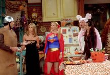 """The One With The Halloween Party""—Friends, Season 8. (Photo: Release)"