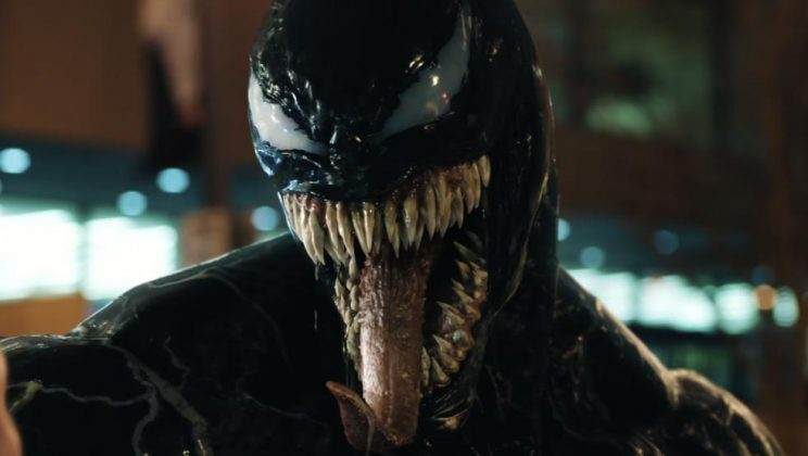 There are ongoing rumors that the most shocking scenes were didn't make it into the final cut of 'Venom' in order to obtain its PG-13 certificate in the US. (Photo: Release)
