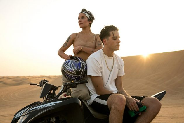 Halsey and G-Eazy confirmed they were back together with this picture of the two having fun at Dubai. (Photo: Instagram)