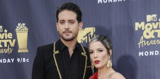 Halsey and G-Eazy have broke up… again. (Photo: WENN)