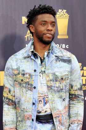 WHO? Chadwick Boseman. WHY? There's always a Marvel's hero in this list. And this year was King T'Challa (a.k.a. Black Panther)'s turn to swoon us over and still the show. Wakanda forever, indeed! (Photo: WENN)