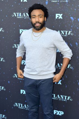 "WHO? Donald Glover. WHY? He became the first-ever black director to win in the comedy category for ""Atalnta."" He also amassed over 398 million views for his music video ""This Is America."" (Photo: WENN)"