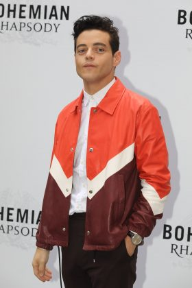 "WHO? Rami Malek. WHY? His role as Elliot in ""Mr. Robot"" has set really high expectations for his portrayal of Freddie Mercury. And though it hasn't come out yet, we're already stanning his performance. (Photo: WENN)"