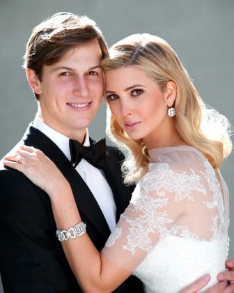 A throwback picture of Ivanka and Jared's wedding in honor of their eight-year anniversary. (Photo: Instagram)