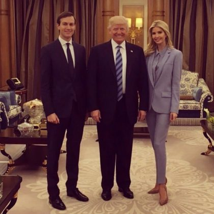 "Ivanka celebrating two ""incredible dads"" on Father's Day. (Photo: Instagram)"