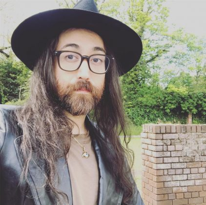 Sean Looks is the spitting image of his late father. His long hair and bushy beard are giving us some major John Lennon 1969 circa vibes. (Photo: Instagram)