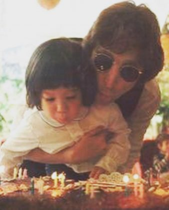 John Lennon was born October 9, 1940. Thirty-five years later, his son Sean Lennon was bon on the exact same day! (Photo: Instagram)