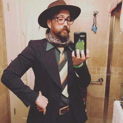 Besides being a music idol, John Lennon was a fashion icon too. And judging by Sean mirror selfies, he also inherited his father's ability to rock a quirky look. (Photo: Instagram)