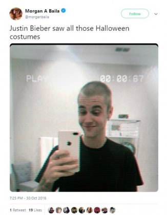 The real reason why he buzzed his hair. (Photo: Twitter)