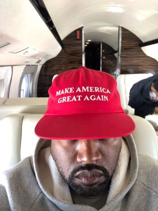 Kanye West's criticism of the 13th Amendment was welcomed by only one certain orange-skinned president… (Photo: Twitter)