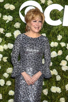 """Kim Kardashian tweeted a nude selfie today,"" Bette Midler tweeted. ""If Kim wants us to see a part of her we've never seen, she's gonna have to swallow the camera."" Kim shot back on twitter: ""Hey @BetteMidler I know it's past your bedtime but if you're still up and reading this send nudes."" (Photo: WENN)"