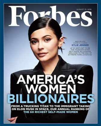 Kylie Jenner was recently celebrated by Forbes for being on track to becoming the youngest self-made billionaire ever. (Photo: Instagram)