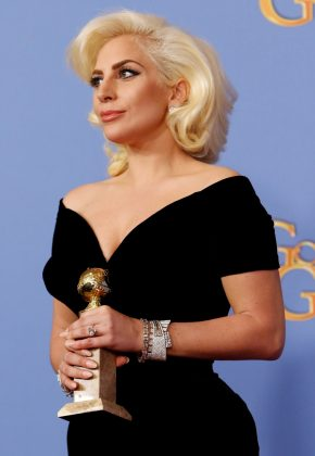 """In 2016, Lady Gaga won a Golden Globe for her role in """"American Horror Story."""" (Photo: WENN)"""